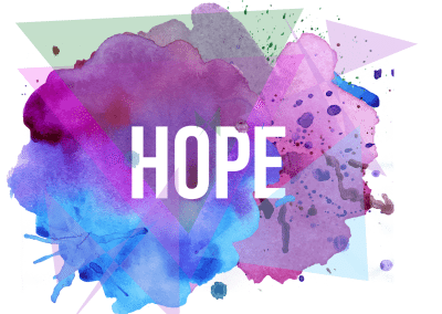 Church Sermon Series Artwork for Easter Hope
