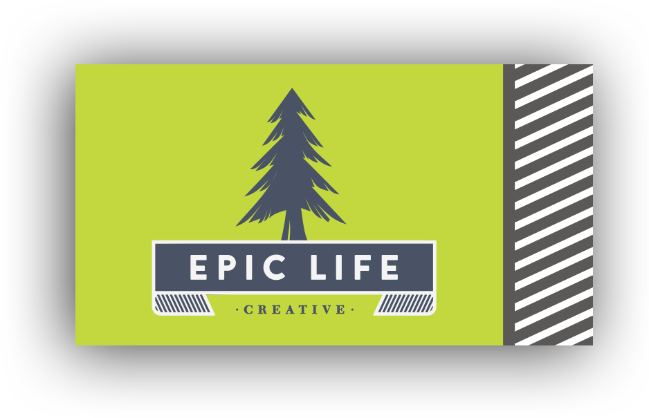 Epic life creative logo graphic design nashville