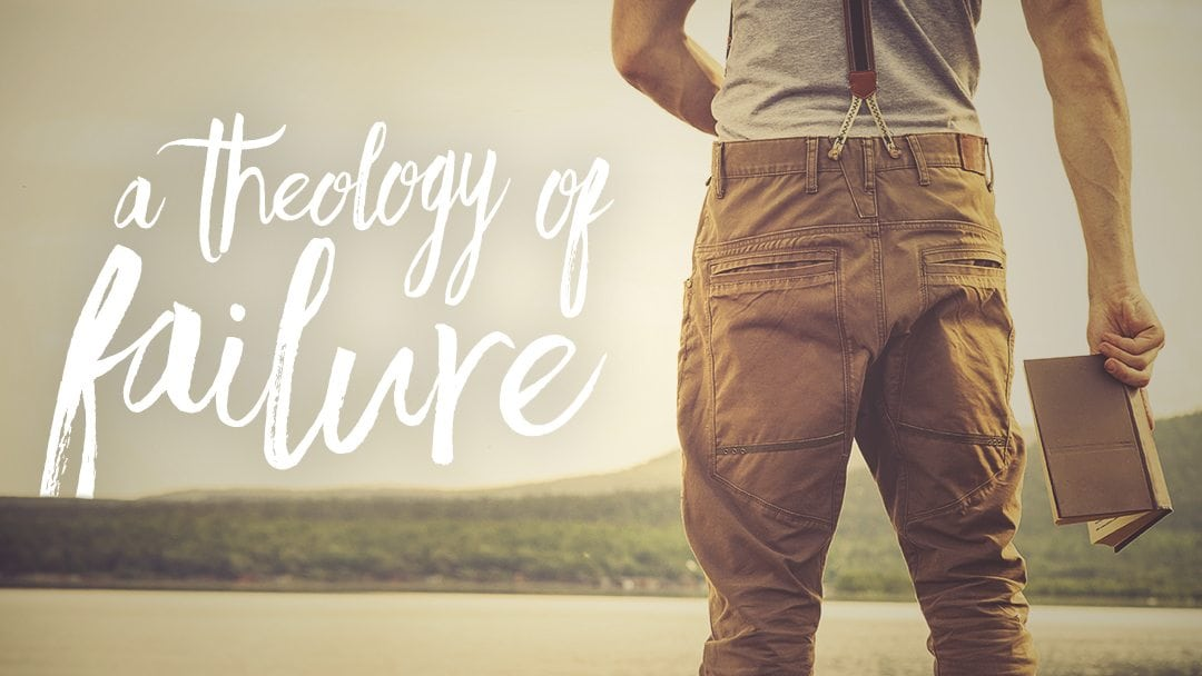 A theology of failure. In so many cases, success is not the primary aperture to judge accomplishment by – but rather the effort we exert towards a calling and the resolve to continue moving forward regardless of how others, or even we ourselves, would view the end result.